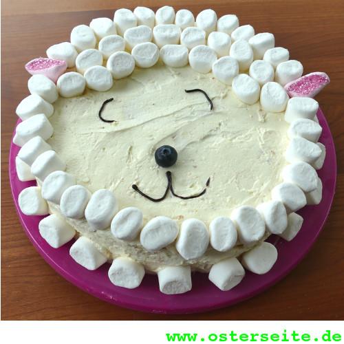 Lustige Osterlamm Torte Rezept Mit Bild